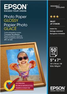 EPSON Photo Paper Glossy 13x18cm 50 listů