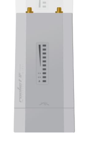 Ubiquiti Rocket M5-Titanium 5GHz Hi-Power 2x2 MIMO AirMax TDMA BaseStation,27dBm