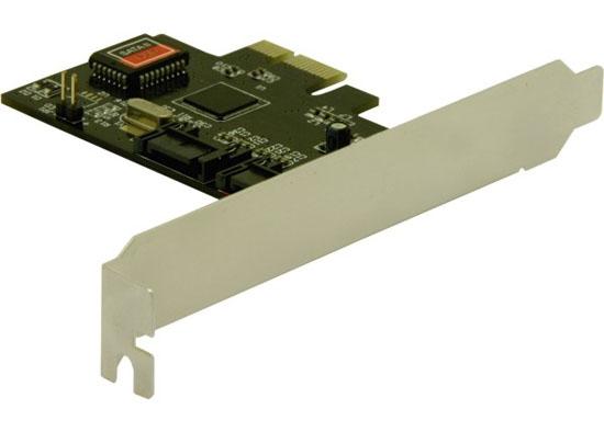 Delock karta PCI Express > 2 x vnitřní SATA 3 Gb/s + Raid