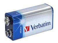 VERBATIM Alkalické baterie 9V, 1 PACK , 6LR61