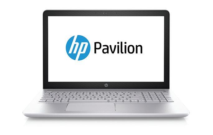 """HP Pavilion 15-cc103nc/Intel i7-8550U/8GB/256GB SSD + 1TB/GF GT 940 MX 4GB/15,6"""" FHD/Win 10/stříbrný"""