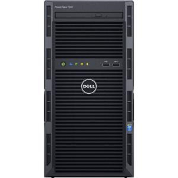 DELL PE T130/E3-1270v6/16GB/2x2TB NLSAS/DRW/2xGL/H330/iDRAC BAS/1x290W + Windows Server 2016 Standard