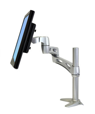 "ERGOTRON Neo-Flex® Extend LCD Arm - stolní rameno, max 24"" LCD, silver"