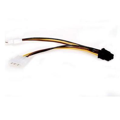 """GEMBIRD Kabel redukce - rozdvojka napájení 1x 5,25"""" na PCIe (6pin)"""