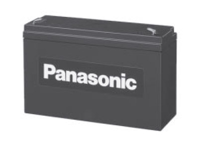 Panasonic LC-R0612P1 (6V; 12Ah; faston F2-6,3mm; životnost 6-9let)