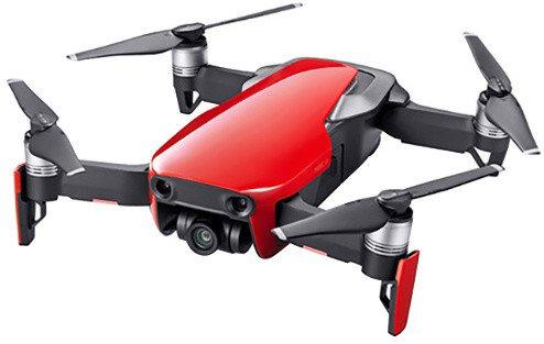 DJI kvadrokoptéra - dron, Mavic Air Fly More Combo, 4K kamera, červený
