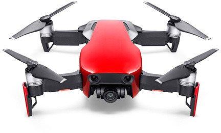DJI kvadrokoptéra - dron, Mavic Air, 4K kamera, červený