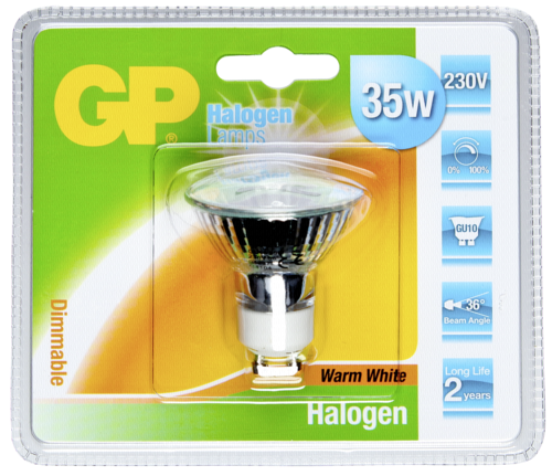 GP Lighting Halogen. Twist 35W/230V GU10 Reflektor 300 lm