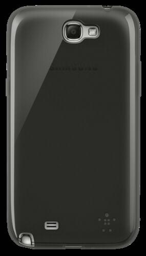 Belkin Grip Sheer TPU cerna transparentni Galaxy Note 2