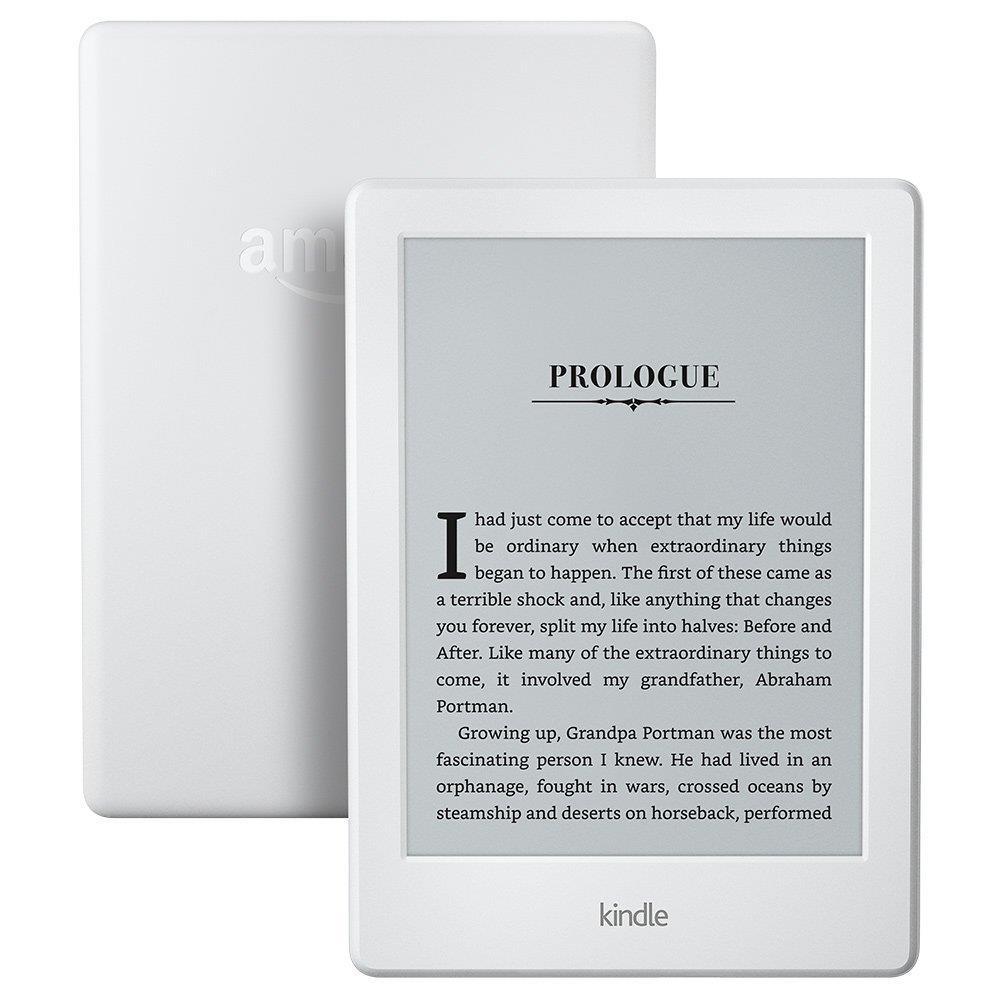 Amazon New Kindle 8 Touch, 6'' E-ink displej, WiFi, SPONZOROVANÁ VERZE, bílý