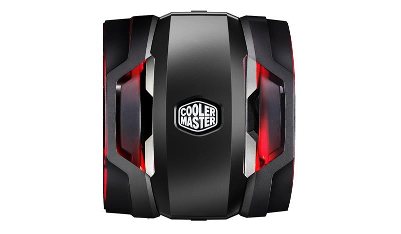 Cooler MasterAir Maker 8, Tower, 140mm x2 900-1800RPM, red LED