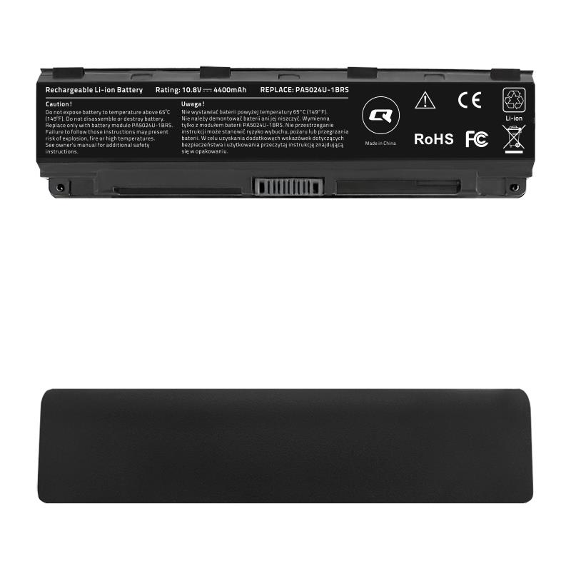 Qoltec Long Life baterie pro notebooky Toshiba C50D C55   10.8-11.1V   4400mAh