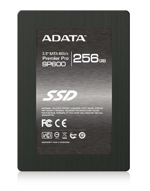ADATA SSD Premier Pro SP600 256GB 2.5'' SATA3 (čtení: 500MB/s; zápis 280MB/s)
