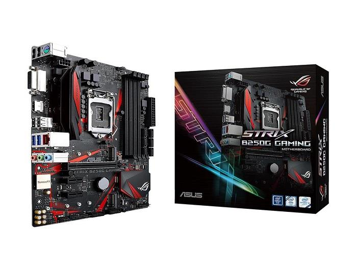ASUS STRIX B250G GAMING, DDR4 2400 MHz, SATA 6 Gb/s, HDMI, DVI