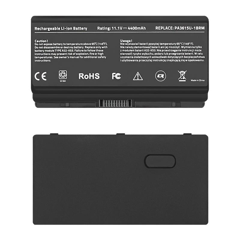 Qoltec Long Life baterie pro notebooky Toshiba PA3615U   10.8-11.1V   4400mAh
