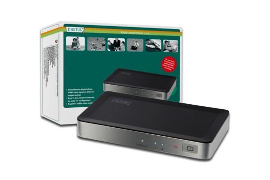 HDMI Video Splitter Digitus 1 => 2 25-225MHz 1080i, 1080p, 5 LGW