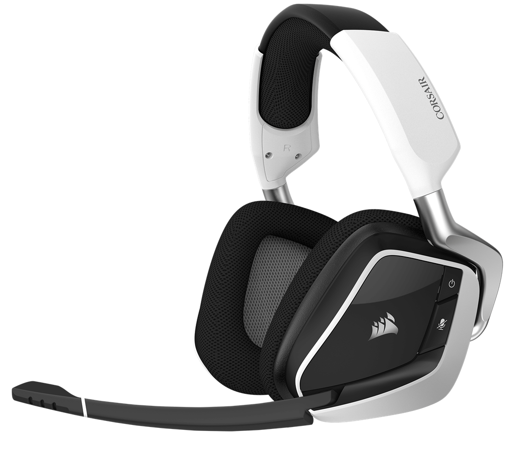Corsair Gaming Void Pro RGB Wireless Dolby 7.1 Gaming Headset White (EU)