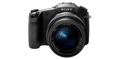 SONY RX10 Digitální kompaktní fotoaparát s objektivem Carl Zeiss® s rozsahem 24–200 mm
