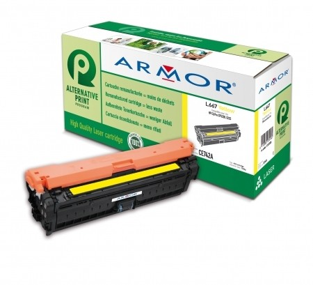 Armor toner pro HP LJ CP 5220 (CE742A),7.300s, Y