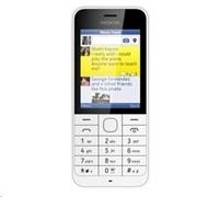 Nokia 220 Dual SIM, bílá