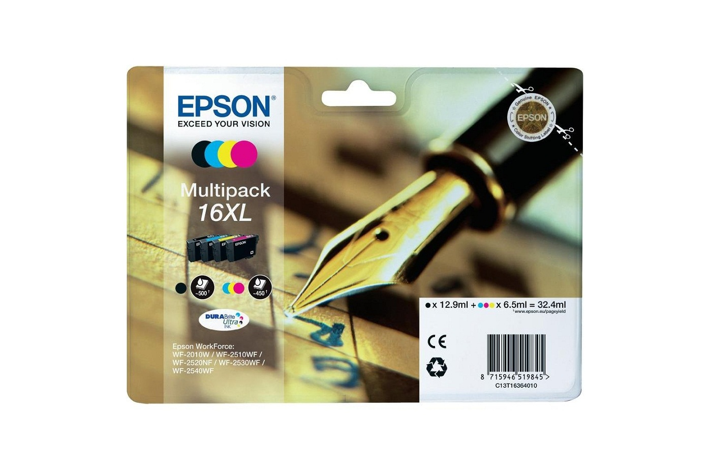 Epson T1636 16XL Series 'Pen and Crossword' multip