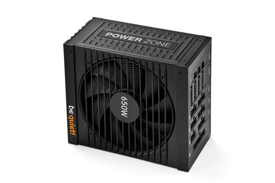 Zdroj be quiet! Power Zone 650W 80PLUS Bronze, pro hráče