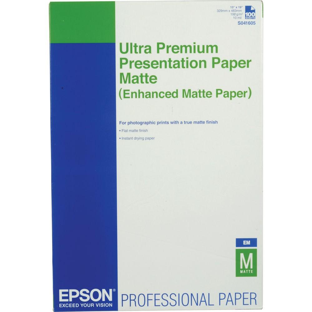 Enhanced Matte Paper, DIN A3+, 189g/m?, 100 Blatt
