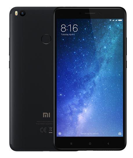 XIAOMI Mi Max 2 DS, 64 GB, černá
