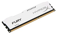 4GB DDR3-1600MHz Kingston HyperX Fury White