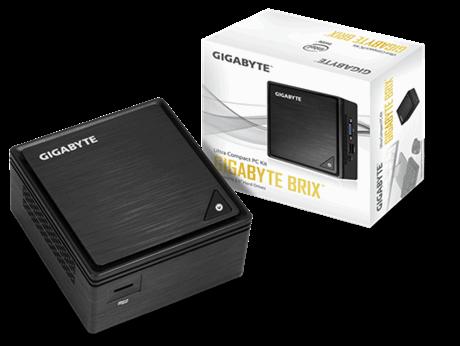 Gigabyte BRIX GB-BPCE-3455, Intel® J3455, 2xSO-DIMM DDR3L, HDMI 2.0,