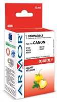 ARMOR cartridge pro CANON Pixma MG5450, IP7250 (CLi551XLY) Yellow 13ml