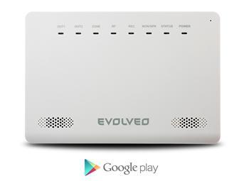 EVOLVEO Alarmex, bezdrátový GSM alarm s ochranou proti sabotáži (tamper ochrana)