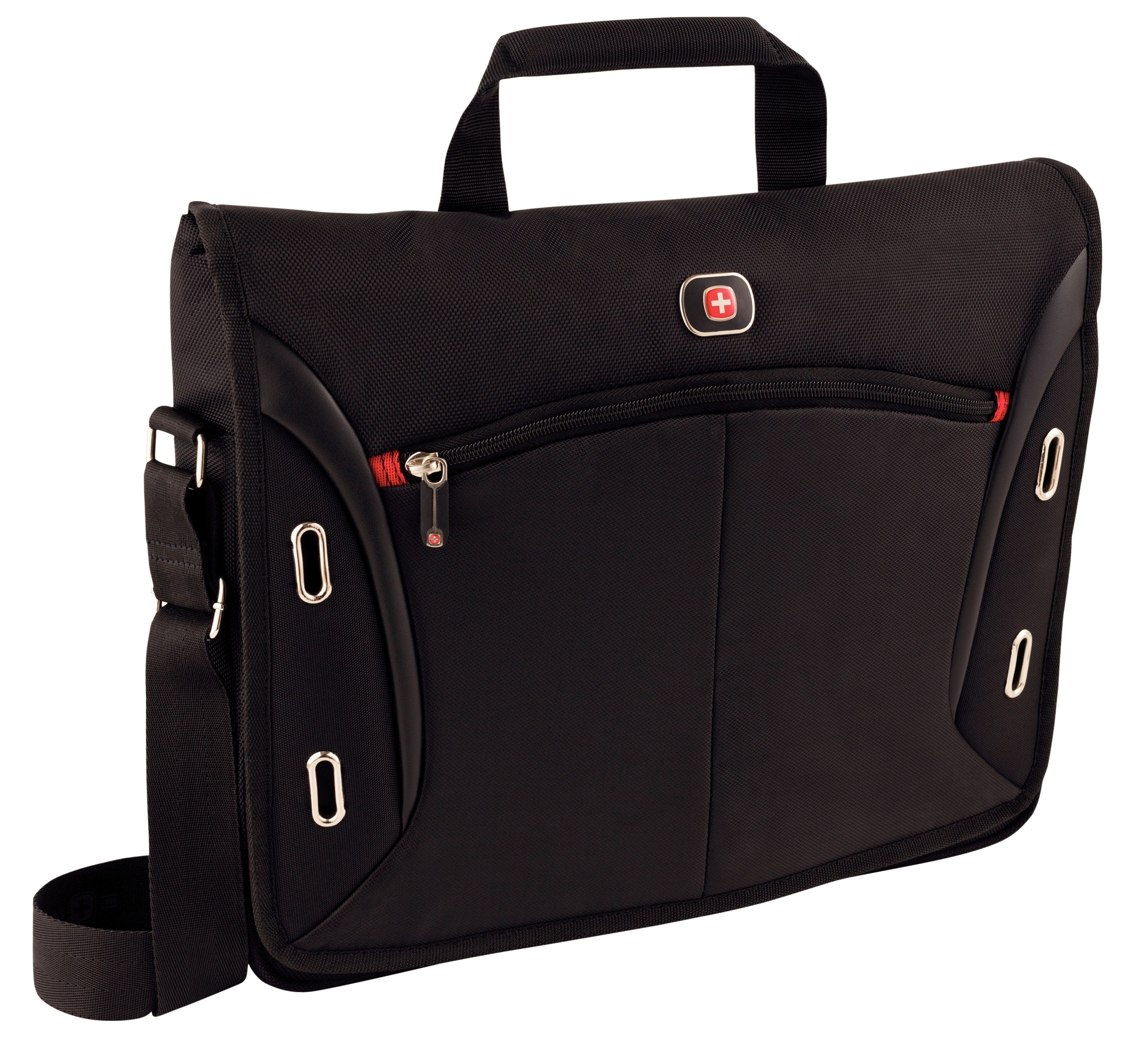"WENGER brašna na notebook Wenger Developer 15 Messenger Bag 15.6"" Black / 67684001"