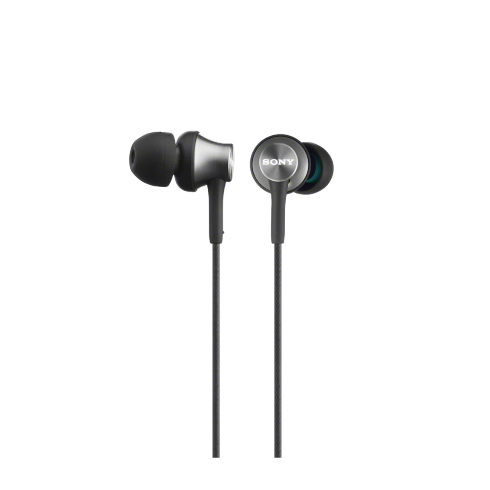 SONY MDR-EX450AP Sluchátka do uší s mikrofonem, rozsah 5 až 25000 Hz - Gray
