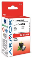 ARMOR cartridge pro CANON Pixma MG5450, IP7250 (CLi551XLBK) black 13ml