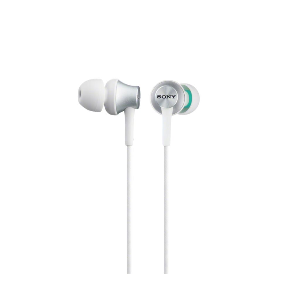 SONY MDR-EX450AP Sluchátka do uší s mikrofonem, rozsah 5 až 25000 Hz - White
