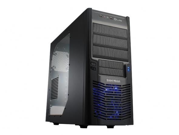Cooler Master PC skříň Elite 430 černá (bez zdroje)