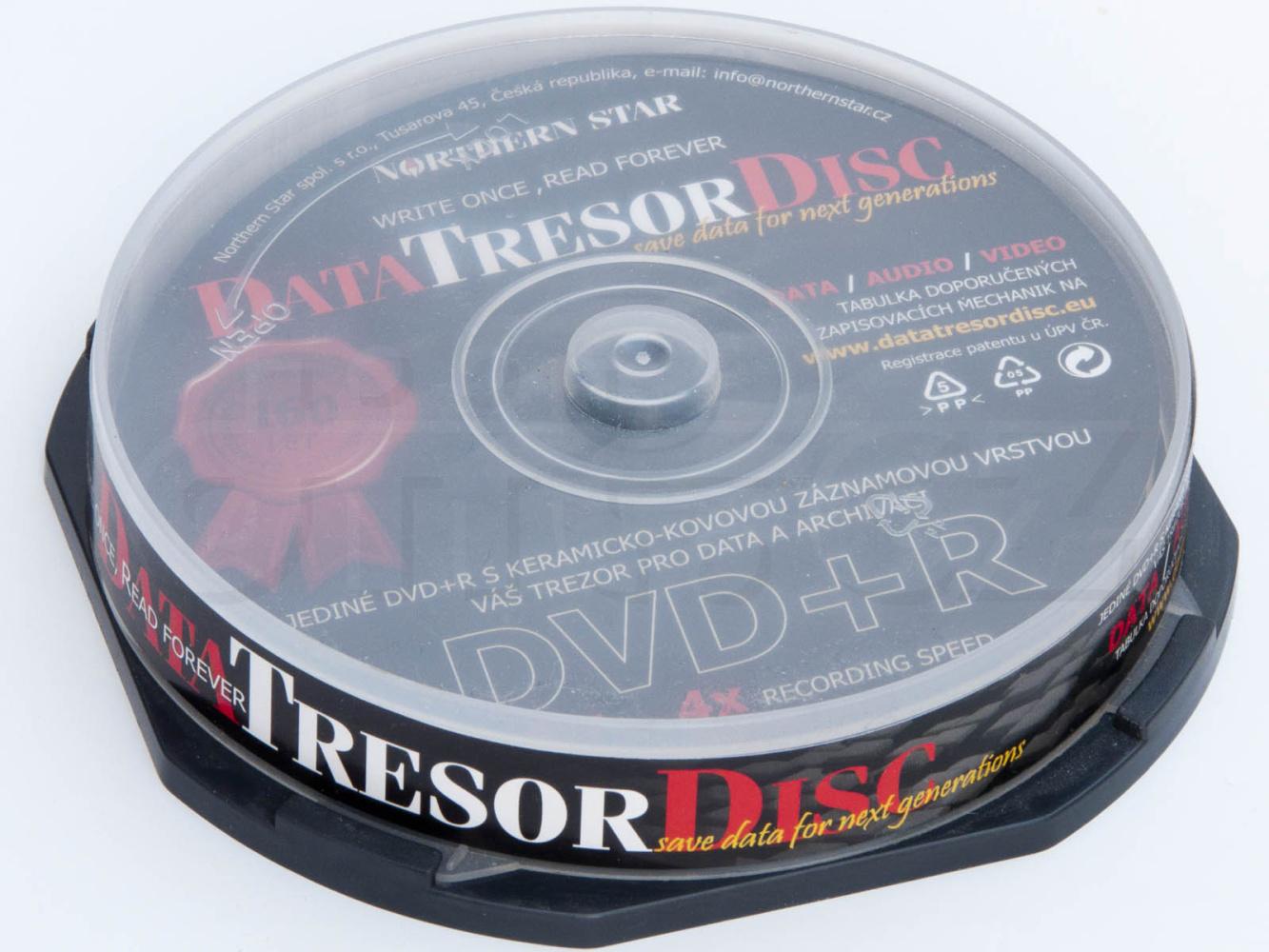 Média DVD+R DTD 160let životnost 4,7GB 4x, 50ks cb