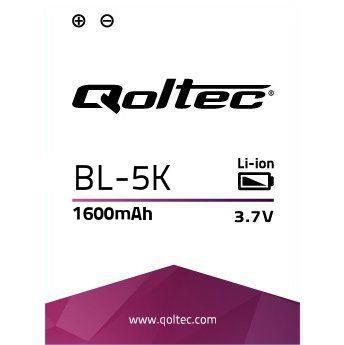 Qoltec Baterie pro Nokia BL-5K, 1600mAh