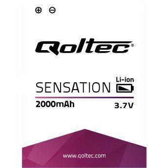 Qoltec Baterie pro HTC SENSATION (XE), 2000mAh