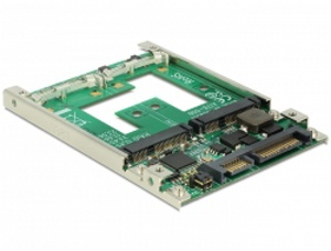 "Delock Konvertor 2.5"" SATA 22 pin > mSATA s RAID"