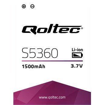 Qoltec Baterie pro Samsung Galaxy Y S5360, 1500mAh