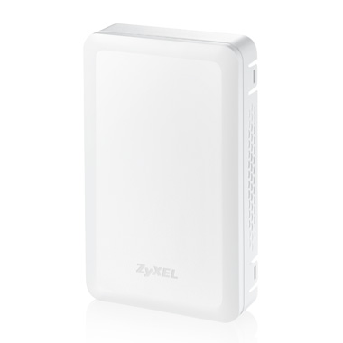 "Zyxel NWA5301-NJ, Standalone or Controller ""In-Socket-Wall"" AP 802.11 b/g/n, pass -Thru Phone/UTP"