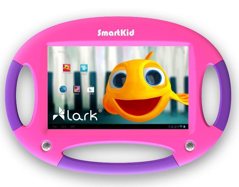 Lark Smart Kid 7, 7'' PureHD, 1.2GHz, 4GB, 1GB RAM, Android 4.2, růžovo-fialový