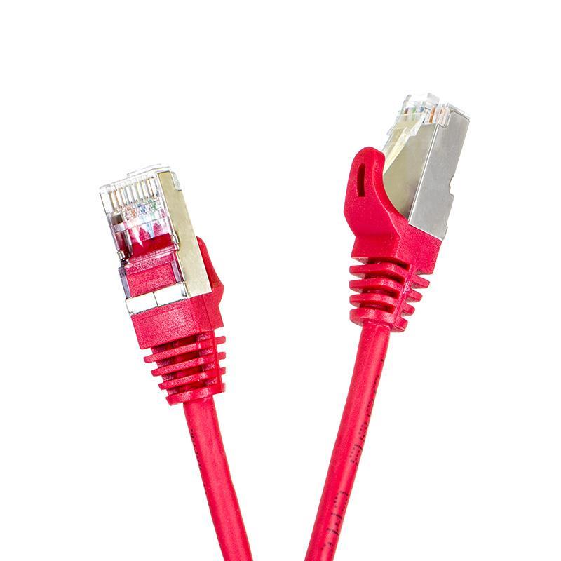 Digitalbox START.LAN patch kabel FTP cat.5e pozlacený 1m červený