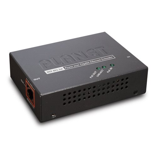 Planet POE-E201 PoE ethernet extender, IEEE802.3at, 26W, Gigabit