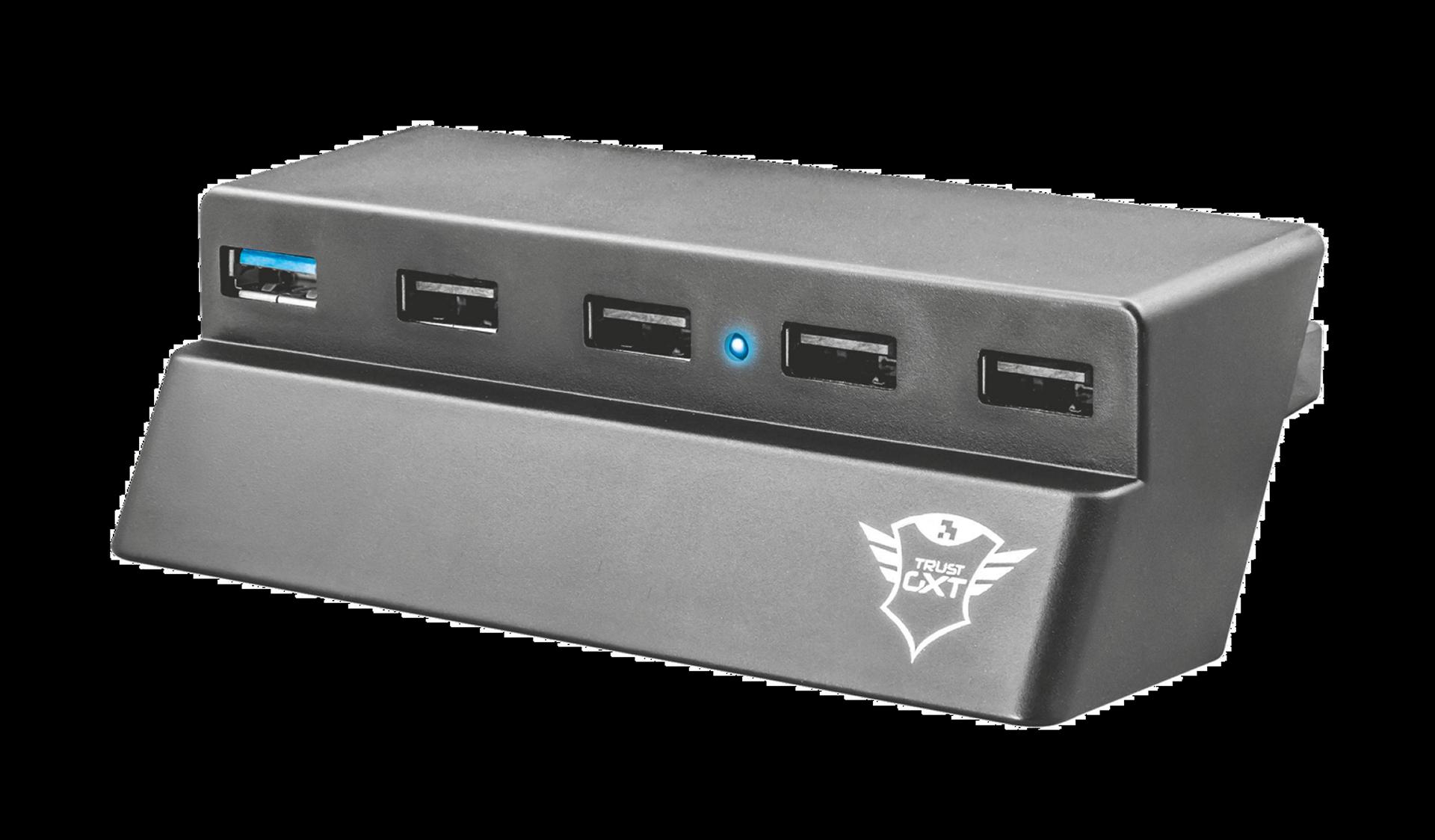 TRUST GXT 219 USB Hub for PS4 Slim
