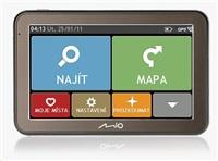 "MIO Spirit 7100 CZ & SK + LIFETIME MAP VOUCHER - 5"" navigace"