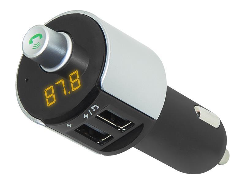 BLOW Transmiter FM + MP3 + nabíječka USB, Bluetooth