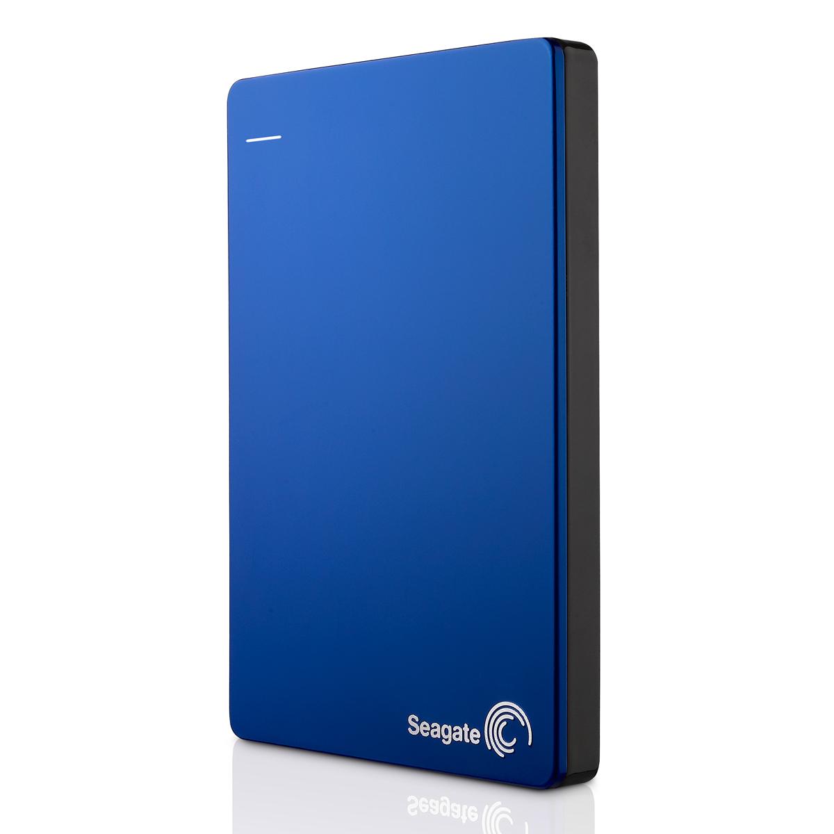 """Seagate Backup Plus, 1TB externí HDD, 2.5"""", USB 3.0, kovový modrý"""